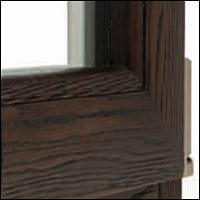 """Дървено алуминиева дограма - модел """"HighTech"""" - отвътре"""