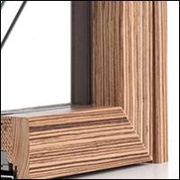 """Дървено алуминиева дограма - модел """"Isik Se"""" - отвътре"""