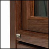 """Дървено алуминиева дограма - модел """"Stratek top"""" - отвън"""