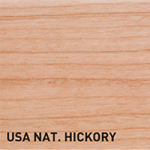 USA Natural Hickory